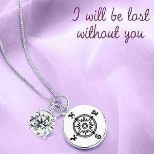 """""""I Will Be Lost Without You"""" Necklace"""